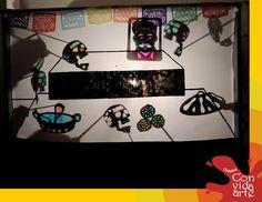 Títeres de sombras para el Día de Muertos