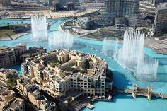 Dubai Mall, Burj Khalifa, Downtown, Fountain  , UAE