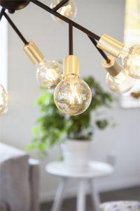 Hero taklampe - Sort - Lightup.no - Nettbutikk med belysning, utebelysning og utelamper