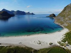 Norway Beach, Lofoten Islands Norway, Best Beaches In Europe, Iceland Travel Tips, Scandinavian Countries, Island Tour, Future Travel, British Isles, Places To See