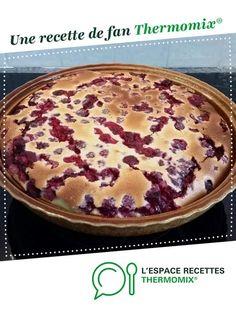 clafoutis framboises amande par laly30. Une recette de fan à retrouver dans la catégorie Desserts & Confiseries sur www.espace-recettes.fr, de Thermomix®.