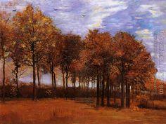 Vincent Van Gogh : Autumn Landscape
