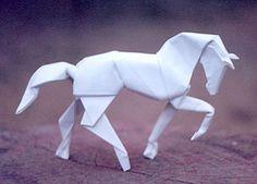 Animales hechos de papel