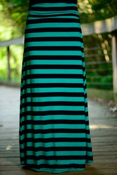 Just For Today Maxi Skirt, Tl/Nv