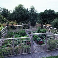 Deer-Proof Garden Fence Ideas Deer-proof vegetable garden A graceful, tall fence keeps deer out of this edible garden in the country. When you garden in deer country, growing vegetables can be a real challenge. To keep out high-jumping deer, many g