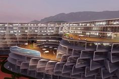 zaha hadid esfera city center monterrey mexico designboom
