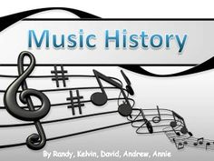This is a helpful tool to have around. This is a slideshow that tells the history of music, in a very easy to understand format | #piano #teach #lesson