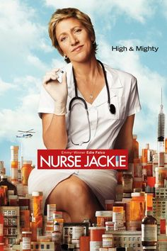 Nurse Jackie: Seasons 1-7 (2009) Now you can watch every single second of Edie Falco's fabulous run as Jackie Peyton, the drug-addled, morally challenged nurse we've come to love as much as we do Carmela on The Sopranos.  Available December 31 #refinery29 http://www.refinery29.com/2015/11/98292/netflix-december-2015-new-releases#slide-67