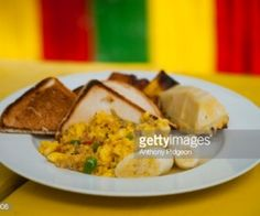 A Caribbean Brunch Favorite: Ackee And Codfish Codfish, Caribbean Recipes, Latin America, Breakfast Recipes, Brunch, Foods, News, Ethnic Recipes, Kitchens