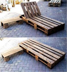 Creative Pallet Recycling Ideas from Lucie& Pallet Furniture . Creative Pallet Recycling Ideas from Lucie& pallet furniture Pallet Garden Furniture, Pallets Garden, Outdoor Furniture, Furniture Ideas, Design Furniture, Rustic Furniture, Furniture Makeover, Diy Terrasse, Recycled Pallets