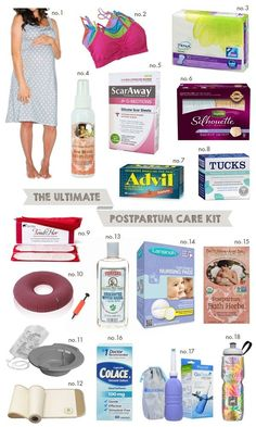 The Ultimate Postpartum Care Kit