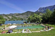 Camping Le Lac au Lac de Serre-Ponçon