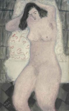 Milton Avery, Nude After Bath