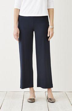Wearever full-leg cropped pants