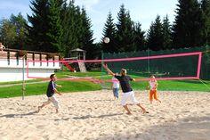 Volleyball spielen | Freizeitbeschäftigung Outdoor