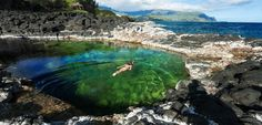 HAWAII // KAUAI ISLAND // pool of death