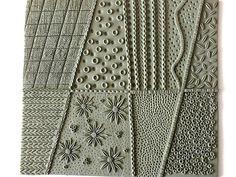 Polymer clay Texture sheet