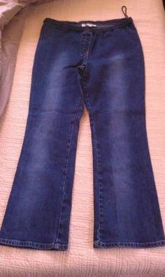 Boot Cut Maternity Jeans by Motherhood Sz LARGE. EUC!!