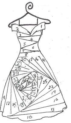 iris folding - Page 4 Iris Folding Templates, Iris Paper Folding, Iris Folding Pattern, Origami Folding, Useful Origami, Paper Piecing Patterns, Card Patterns, Quilt Patterns, Crochet Patterns