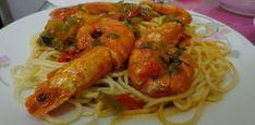 Greek Recipes, Fish And Seafood, Pasta, Cooking, Ethnic Recipes, Cooking Recipes, Food And Drinks, Kitchen, Greek Food Recipes