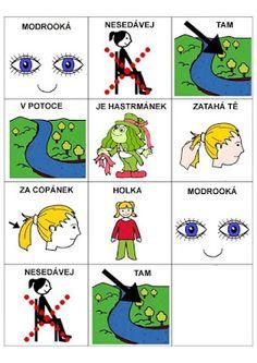 Pro Šíšu: Básničky i pro autíky Pictogram, Preschool, Language, Kids Rugs, Songs, Education, Comics, Autism, Kid Friendly Rugs
