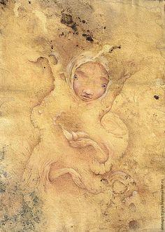 Картина фэнтези Дриада