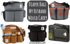 5 Manly Diaper Bags - Chockababy! | Chockababy.com