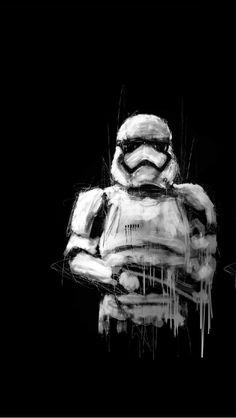 Stormtrooper Art #starwars #theforce #jedis
