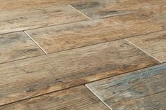 Ceramic and Porcelain tile that looks just like wood. Don't you wish your wood floors could get wet? Well now they can with Antique Wood Looking Tile. This product has the classic aesthetic look for wood floors, but carry the super low maintenance of a porcelain floor.   For more information feel free to check out our website www.bvtileandstone.com or give us a call (714) 772-7020. We're located in Anaheim, CA.