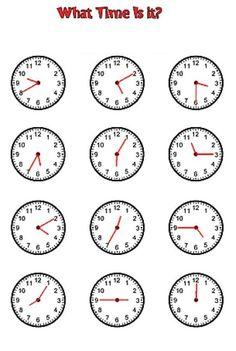 Maths Worksheets Ks2, Clock Worksheets, Free Printable Math Worksheets, Time Worksheets Grade 2, Teaching Time, Teaching Math, Teaching Clock, Teaching Resources, Homeschool Math