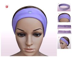 Super Cheap Lululemon Yoga Headband Purple for Canada Outlet Cyber Monday