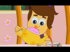 Polly Put The Kettle On Nursery Rhyme - YouTube