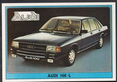 Panini Super Auto 1977 Sticker - No 57 - Vintage Car - Audi 100L | eBay