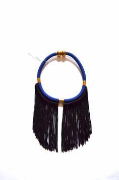short rope fringe necklacestatement necklaceboho by PROPSfashion, €30.00