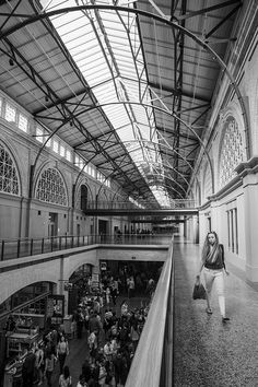 Inside the Ferry Building by Jim Watkins on 500px