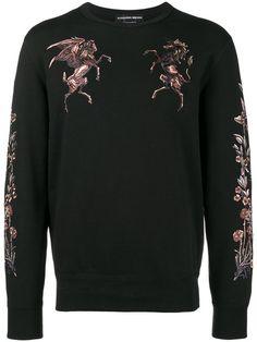 2cb6e80426 Alexander McQueen Embroidered Sweatshirt - Farfetch
