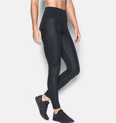 Women's UA Mirror Hi-Rise Shine Legging, Black