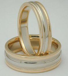 sortijas hechas de oro blanco