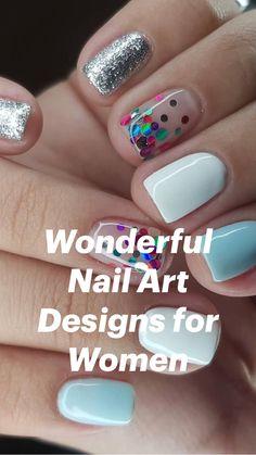 Short Nail Designs, Cute Nail Designs, Acrylic Nail Designs, Acrylic Nails, Fingernail Designs, Gel Nail Polish Designs, Nail Art Toes, Nail Designs For Kids, Beginner Nail Designs