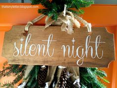 "That's My Letter: ""S"" is for Silent Night"