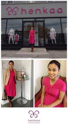 Blog | Henkaa - Pink for a cause... Love this wrap :)