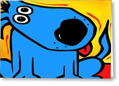 Understood - Abstract Dog Pop Art By Fidostudio Painting by Tom ...