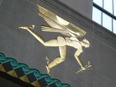 Mercury, Rockefeller Center, NYC, New York