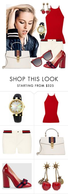 """Untitled #4868"" by caroba ❤ liked on Polyvore featuring Gucci and Alexander Wang"