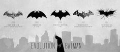 La evolución del logotipo de Batman a lo largo de 72 años   Esto Apesta.