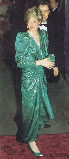 dianas green gowns - Google Search
