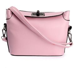 Women Candy Color Bag Lady Purse Shoulder Bag Crossbody Bag ($12) ❤ liked on Polyvore featuring bags, handbags, shoulder bags, purse shoulder bag, pink hand bags, shoulder handbags, crossbody hand bags and man bag