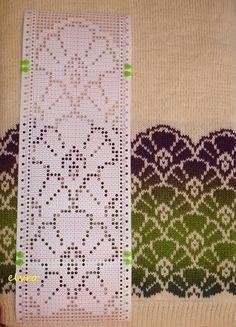 Ravelry: elvro's Цветы на снегу Fair Isle Knitting Patterns, Knitting Machine Patterns, Fair Isle Pattern, Knitting Charts, Lace Knitting, Knitting Stitches, Crochet Patterns, Broderie Bargello, Drops Patterns