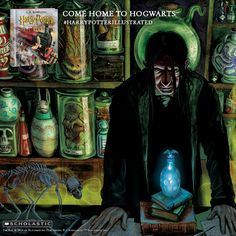 Snape is at his scariest in the new illustrated edition of Harry Potter and thre Sorcerer's Stone. #harrypotterillustrated