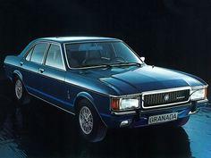 Ford Granada Ghia 4-door Saloon (1972 - 1977).
